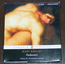 Mary Shelley FRANKENSTEIN 3 CD set AUDIOBOOK (1994) Richard Pasco  3 hours VGC