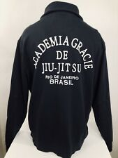 ROOTS OF FIGHT / ACADEMIA GRACIE / JIU JITSU Mens 2XL Embroidered MMA Sweater