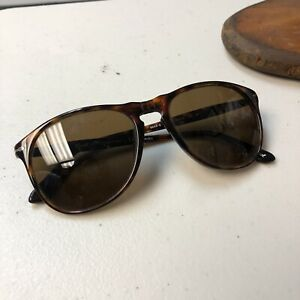 Persol Havana Sunglasses Hand Made In Italy 9649S 24/57 Polarized