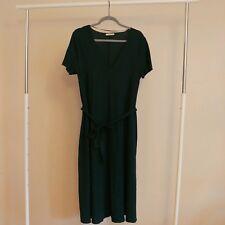 Zara Dark Green Midi Dress - Size L