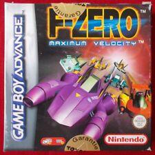 Nintendo Gameboy Advance - GBA ► F-Zero: Maximum Velocity ◄ TOP