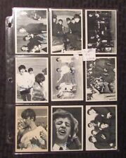 1964 BEATLES 3rd Series Trading Cards LOT of 9 FN/FN+ 153 133 149 125 151 152 ++