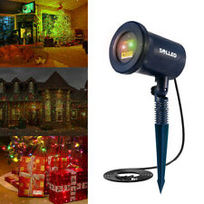 Outdoor Garden RGB LED Laser Light Projector Christmas Xmas Party Waterproof Wed
