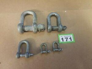 Joblot of small shackles