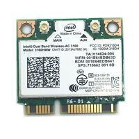 Intel Dual Band Wireless-AC 3160 3160HMW+Bluetooth 4.0 up to 433 Mbps 802.11 ac