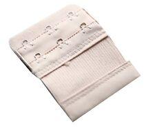 Accessoire lingerie 1 rallonge beige extension soutien gorge 3 crochets - 8/10cm