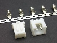 XH 2.5mm Connector Sets (2-14, 20 Pin) Housing + Header + Crimps (JST XH Style)