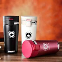 Pop!Stainless Steel Vacuum Flask Bottle Travel Water Coffee Tea Mug Cup - 380ml