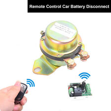 Battery Switch Disconnect Car Latching Relay Anti-theft Remote Control 12V