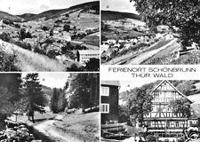 AK, Schönbrunn Thür. Wald, vier Abb., 1978