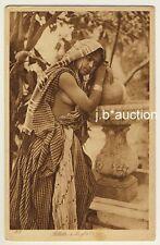 LEHNERT & LANDROCK #205 Girl at the Fountain * Vintage 1910s Ethnic Nude PC