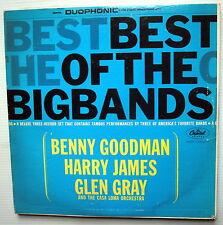 Best of the BIG BANDS CAPITOL 3LP tri-fold  Benny Goodman HARRY JAMES Glen Gray