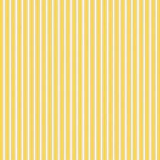 Dena Designs Sunshine Stripe Linen Fabric in Yellow LIDF006 Linen/Cotton