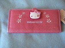 Sanrio Hello Kitty Checkbook Wallet Red/White Round Collectible New 1976, 2004