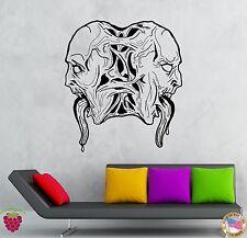 Wall Stickers Vinyl Decal Zombie Vampire Creepy Decor Scary Demons  (z2128)