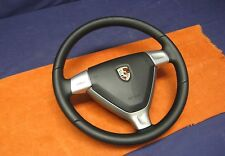 Porsche 911 997 Black Leather Steering Wheel c/w Airbag
