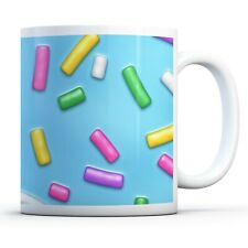 Colourful Sprinkles - Drinks Mug Cup Kitchen Birthday Office Fun Gift #16709