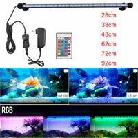 Waterproof Submersible Aquarium 28-92cm LED Light Fish Tank Bar Strip Light Lamp