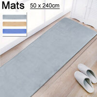 Waterproof 50*240CM Non Slip Dining Room Home Bedroom Narrow Carpet Floor Mats
