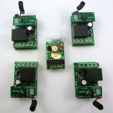 Arduino MCU 4 Channel Wireless Control 4 PCS DC24V Relay Receiver Controller