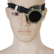Steampunk Goggle Eye Patch Costume Biker Glasses Cyber Gothic Cosplay