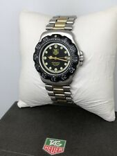 RARE Tag Heuer Formula 1 Prof. Two-Tone Men's Luxury Sports Watch 376.513 W/ Box
