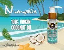 Nuengelite Version 2017 Organic virgin coconut oil cold pressed 100% 60 ML