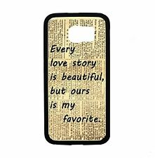 Vintage Love Story For Samsung Galaxy S6 i9700 Case Cover