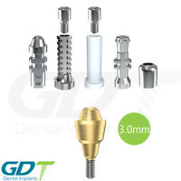 Straight Multi Unit 3.0mm Set For Conical NP Active Hex Dental Implants