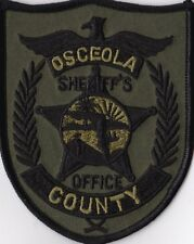 Osceola County Sheriffs Office subd. FL Florida Police Patch NEW!!