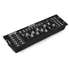 MIXER CENTRALINA LUCI DMX CONTROLLER FARI PAR LED TESTE MOBILI STROBO 192 CH t1
