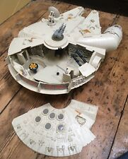 Vintage Star Wars Millennium Falcon Working Motor Great Example 100% Complete