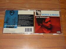 JOHN MELLENCAMP - GREATEST HITS, WORDS & MUSIC / 2-CD-SET 2004 MINT-