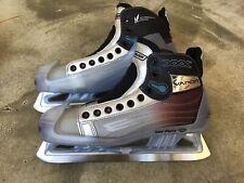 Perfect Nike Bauer Vapor Xxx Pro Goal Skates, Skate 8D, Shoe 9.5, Ice Hockey
