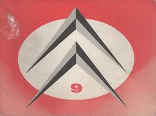 LE DOUBLE CHEVRON 9 1961 CITROEN AMI 6 24H DU MANS PURGE DES FREINS CITROEN DS