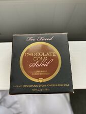 Too Faced Mini Chocolate Gold Soleil Bronzer- Luminous 2.8g