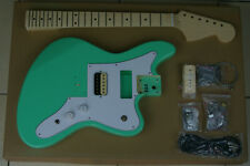"""DIY/Build Your Own GUITAR KIT Jag Stang Offset Surf Green 24"""" Short Scale"""