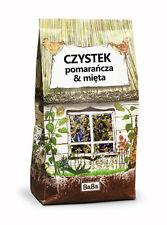 CISTUS HERB TEE Orangenschale, Kornblume, Zitronenmelisse, Minze 150g