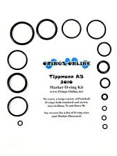 Tippmann A5 2010 Paintball Marker O-ring Oring Kit x 4 rebuilds / kits