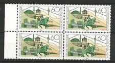 Deutsche Bundespost 1988: 700 Jahre Stadt Düsseldorf - 4er Block