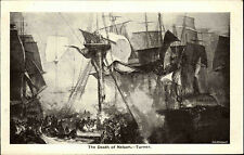 Marine England ~1940/50 HMS VICTORY Admiral Nelson Seeschlacht Trafalgar Turner