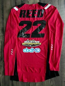 Chad Reed Autographed Jersey signed @ the MotoCar Fite Klub Race