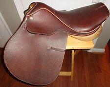 "Collegiate RD leather English 17"" Horse Saddle  L@@K!"