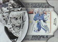 16/17 Tim Hortons Platinum Profiles Ryan Miller  #11 Canucks