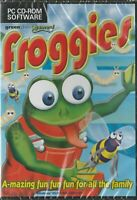 Froggies PC CD-ROM Game For All The Family Windows 95/98/ME/2000/XP NEW