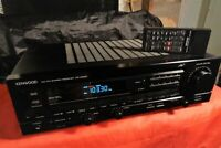 Kenwood KR-A5020 AM FM Stereo Receiver 60 wpc Works Great Very Clean