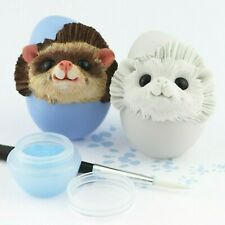 Easter Pygmy Hedghog figurine - Paint your own!