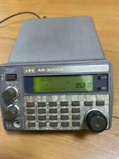 AOR's famous wideband receiver AR-3000A Weekend
