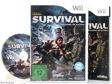 CABELA`S SURVIVAL - SHADOWS OF KATMAI  - dt. Version -  °Nintendo Wii Spiel°