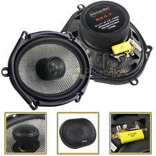 """2 Pack American Bass 6x8"""" 2 Way Coaxial Car Stereo Speakers SQ5.7 150W"""